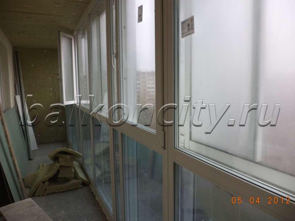 Технология утепления балкона в домах копэ. - балконные двери.